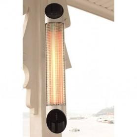 Patiovarmer Patiovarmer Blade Silver 1200W Infrarød varmeapparat Leveringstid: Ikke på lager, Kan forudbestillesFraight omkostni