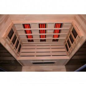 Udgående produkter Sauna Solvarme Sauna ydre dimensioner: Længde: 1300 mmHøjde: 1980 mm Dybde: 1000 mm Leveringstid: Udsolgt Fra