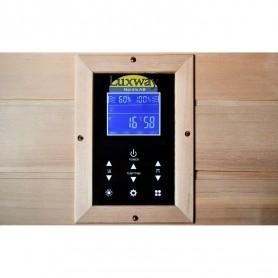 IR Glanset sauna til 1 person med kontrolpanel