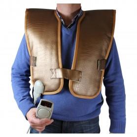 Infrarødt krop infrarødt til ryg og torso med turmalinsten Dimensioner: Bredde: 520 mm Længde: 1020 mmTurmalin