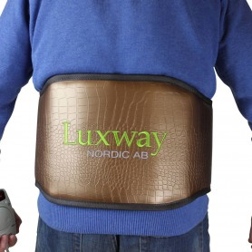 IR-kropsvarmer Infra-bælte til ryg med turmalin Mål: Bredde: 250 mm Længde: 1350 mmTurmalin