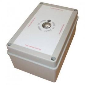 Terrassevarmer Timer 6000W med automatisk stopfunktion