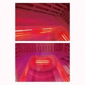 Udgående produkter Sauna-tyndt infrarødt og traditionelt