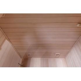 Sauna Traditionel Vesta til 4 personer Traditionel sauna til 4 personer. Størrelse: 2000 x 1750 x 2000 mmVed: HemlockVä