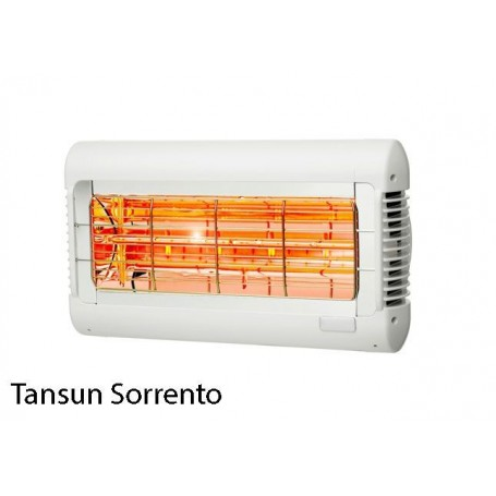 Tansun Sorrento 2000 watt hvid