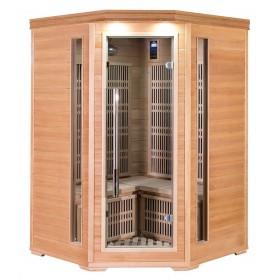 Hjørne Sauna Cornett Mini Hemlock Træ Type: Hemlock