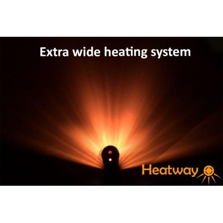 Patiovarmer HeatWay Cylindro 2000W Champagne