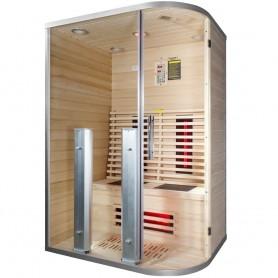 Sauna til 2 personer Infrarød Wiwo Care