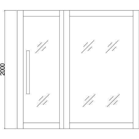 Multi-sauna Heatway Corner-sauna 5-6 personer 42995 - 29