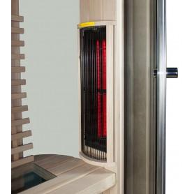 IR sauna Jade enkelt runde 16995 - 7
