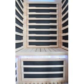 IR- sauna Glossy with carbontech