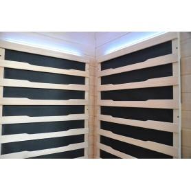 IR- sauna Glossy backpanel