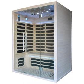 Den letanvendelige Glossy sauna