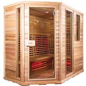 Sauna Relax Lux Venstre cedertræ