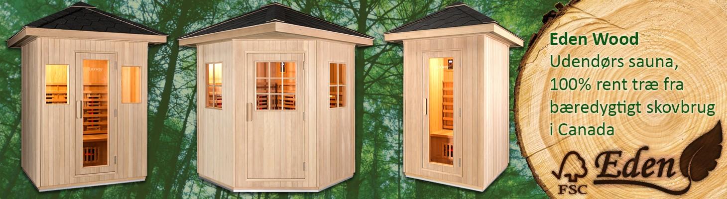 Eden Wood Udendørs sauna